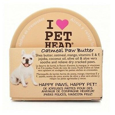 Pet Head Oatmeal Paw Butter 59.1 ml soothes & Relieves Dry, Cracked Paws & Noses