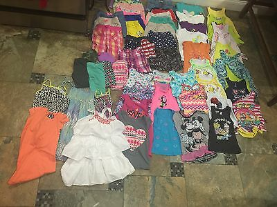 Lot Of Girls Summer Clothes-size 6