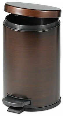 OIL RUBBED BRONZE Touchless Trash Can Step On Wastebasket Bathroom on bronze bathroom light, home depot stainless steel trash can, bronze bathroom wall shelf, brushed bronze trash can, bronze bathroom stand, bronze metal trash cans, red stainless steel kitchen trash can, bronze bathroom carpet, oil rubbed bronze trash can, bronze bathroom wastebasket, bronze bathroom cart, bronze step can, small trash can, bronze bathroom basket, bronze bathroom garbage, bronze bathroom mirror, bronze trash can for kitchen, bronze bathroom scale, bronze bathroom bowl, bronze bathroom sign,
