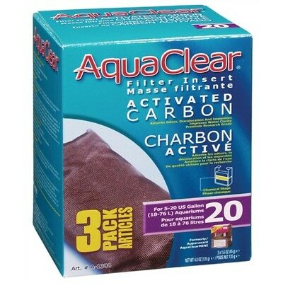 RC Hagen AquaClear 20 Activated Carbon - 3-pack