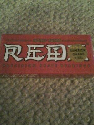 Bones Super Reds - Skateboard,Longboard Bearings x 8
