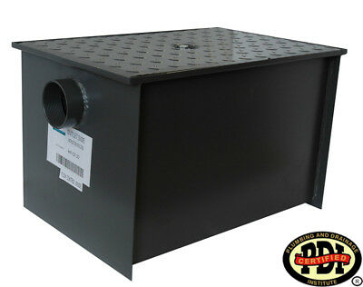 WentWorth Grease Trap interceptor New 50 lb 25 GPM PDI Certified model# WPGT25