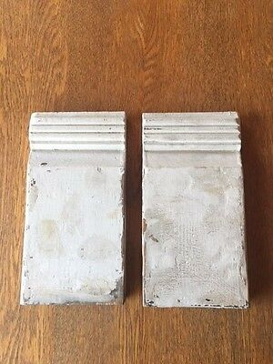 Antique Plinth Blocks- a pair