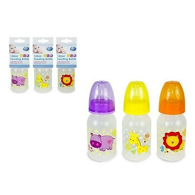 First Steps Biberon 150 ml   orange,jaune ou violet