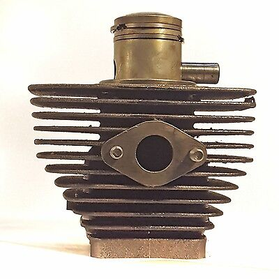 Minarelli V1 stock cylinder piston and rings for vintage moped 1 HP