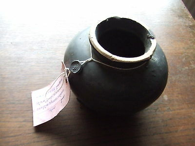 China.  Sung Dynasty.  Shipwreck Item.   Brown Tea Dust Glazed Pottery Jar,