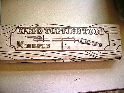 Rug Crafters Speed Tufting Tool Threader Extra Needle Original Box