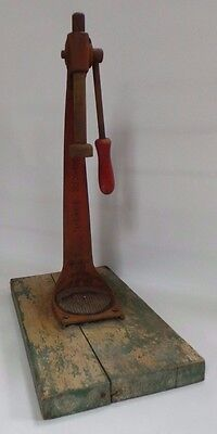 The Everedy Co. Gear Top Vintage Bottle Capper Iron Original