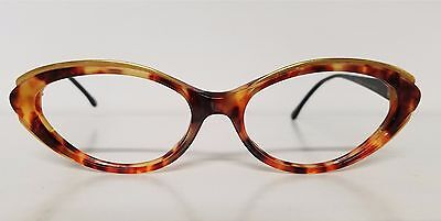 1756f43137f6 Original Vintage GIANNI VERSACE Cateye Plastic Frames Mod V88 Made in Italy