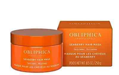 Obliphica Professional Seaberry Hair Mask Fine to Medium 8.5 oz