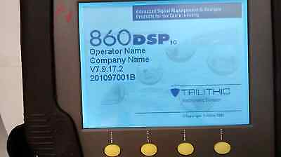Trilithic 860 Dsp Cable Analyzer