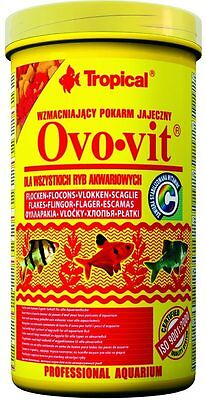 TROPICAL OVO-VIT strengthening egg flakes TROPICAL FISH FOOD
