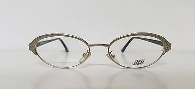 c3adaf1386ad Original Vintage GIANNI VERSACE Oval Metal Rxable Frames Mod G93 Made in  Italy