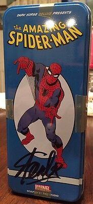 Classic Marvel Character Figure (Spider-man) SIGNED by Stan Lee