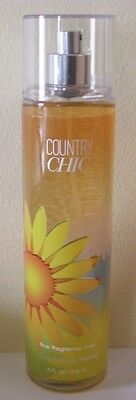 Bath & Body Works Country Chic Fine Frag. Mist F/size Bottle Great Scent!