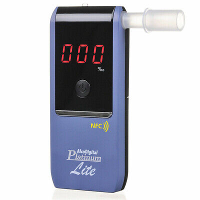 AlcoDigital Platinum Lite Breathalyzer RRP: £99.95