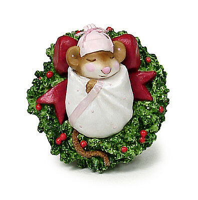 CHRISTMAS CUTIE by Wee Forest Folk, WFF# M-303, Pink, Retired