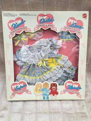 My Child Doll Original BOXED NRFB RARE Yellow Floral Flare Dress