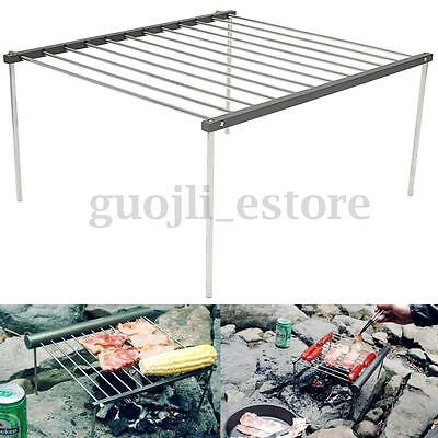 Portable Folding BBQ Barbeque Steel Cooking Grill Outdoor Picnic Camping Tool