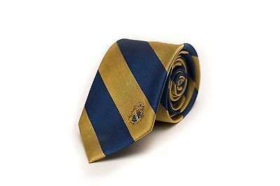 Alpha Phi Omega Fraternity Modern Striped Tie