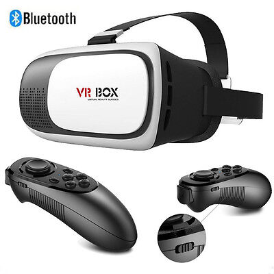 Bluetooth Remote Control For VR BOX Virtual Reality 3D Glasses Games Smartphone