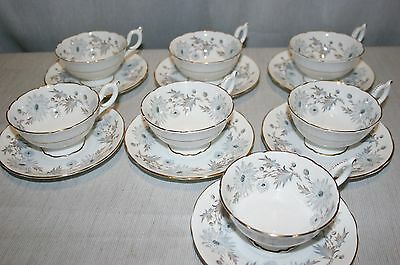 Coalport Bone China, MY FAIR LADY Scalloped Cup and Saucer SET(S), Excellent +!