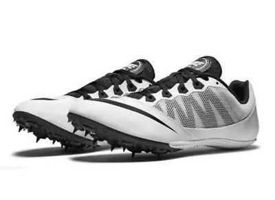 Nike Zoom Rival S7 Track Field Spikes White Black Mens Size 7.5 New 616313-170