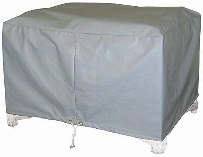 Protective Covers Weatherproof Ottoman Cover, Large, Gray