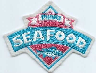 Publix seafood employee/driver patch 3 X 3-7/8 (Publix Supermarkets) #1127