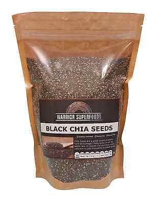 Phragos Health Foods Black Chia Seeds 1kg - Introductory Sale