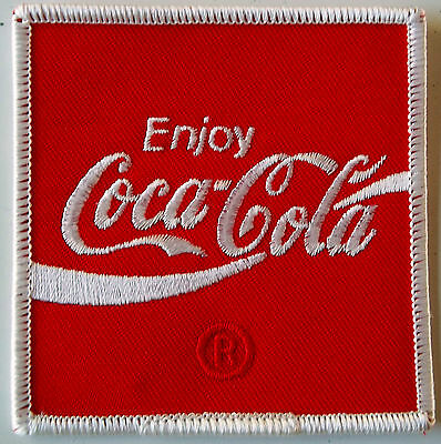 Coca-Cola Driver/employee patch 3 X 3 inch