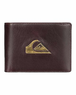 NEW QUIKSILVER™  Mens Miss Dollar Leather Wallet