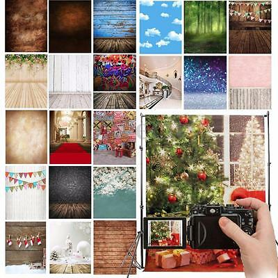 26 Types Wall Floor Photography Background Cloth Xmas Backdrop For Studio 5x7ft