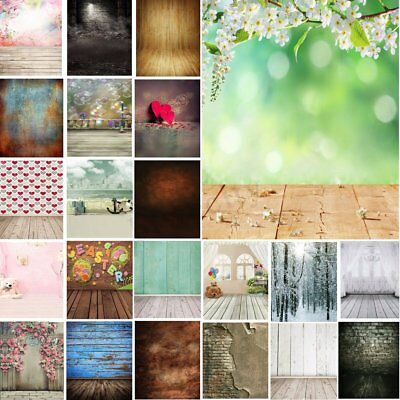 28 Types 3x5FT Wood Wall Photography Background Cloth Backdrop Photo For Studio