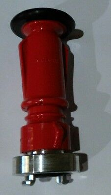 Fire hose fog nozzle with storz connector     (power jet) 25mm 1 inch BSP