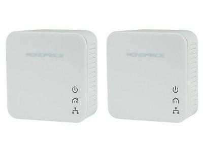 Ethernet over Power Powerline Converter- HDStream Kit 200mbps - Monoprice