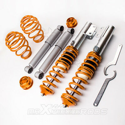 FOR Vauxhall Astra G, Coupe, Zafira A, Adjustable Coilover Suspension Kit