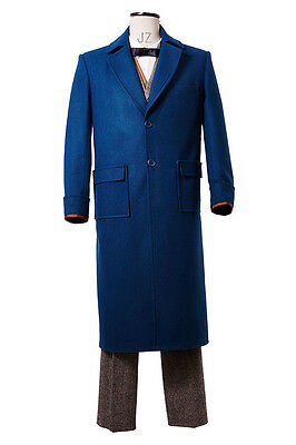 Fantastic Beasts and Where to Find Them Kostüm Newt Scamander Cosplay Mantel