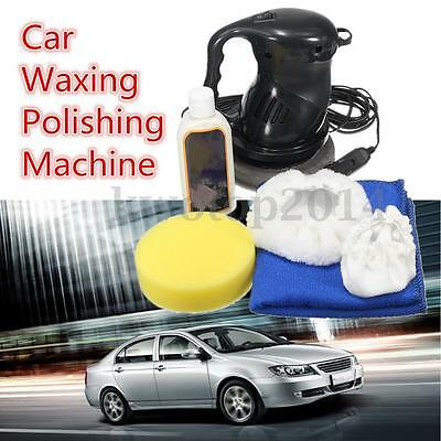 DC-12V 60W Electric Portable Car Waxing Polishing Machine Automation Cleaning