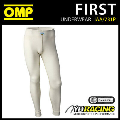 Iaa/731P Omp Racing Fireproof Long Johns Pants To Wear Under Your Omp Race Suit