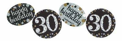 Gold Celebration 30th Birthday Confetti 34g Party Table Sprinkles
