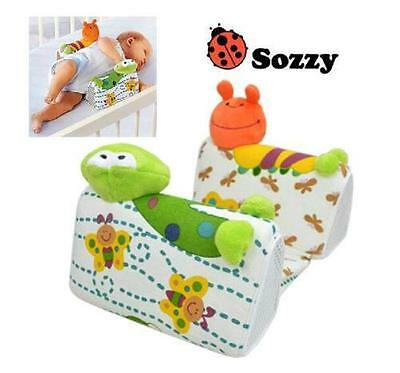 New Sozzy Infants Baby Newborn Airflow Sleep Anti Roll Safety Wedge Pillow 0-6M