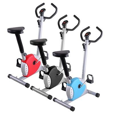 Exercise Bike Fintess Cycling Machine Cardio Aerobic Equipment Workout Gym Home