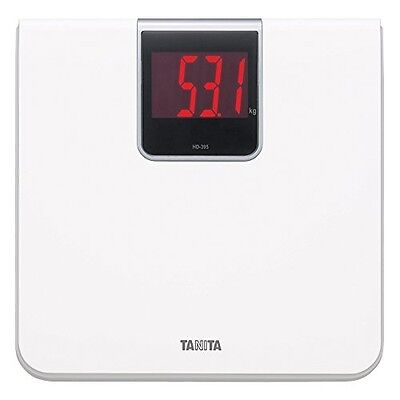Tanita Digital Health Meter HD-395-WH White Body Weight Scale Care JAPAN