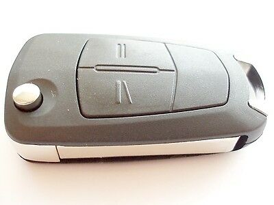 Replacement 2 button flip key case for Vauxhall Opel Zafira B remote