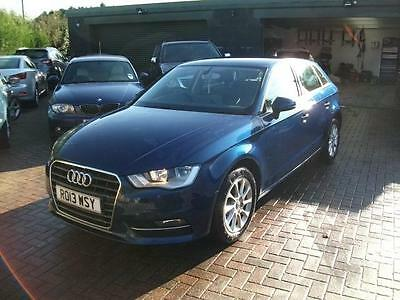 2013 Audi A3 2.0TDI SE SPORTBACK STOLEN RECOVERED DAMAGED SALVAGE REPAIRABLE