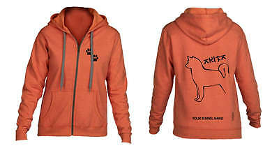 Akita, Hoodie Exclusive Dogeria Breed Design  (optional personalisation)