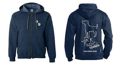 Jack Russell Terrier, Hoodie with Exclusive Dogeria Breed Design