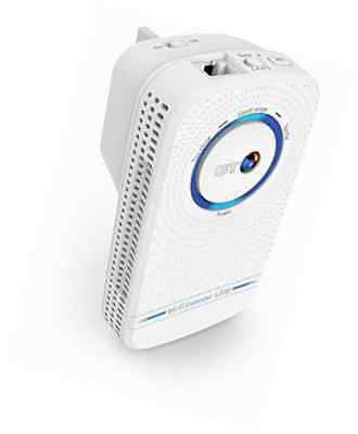 BT 11ac Dual-Band Wi-Fi Extender 1200 Kit Booster White Broadband Signal Booster