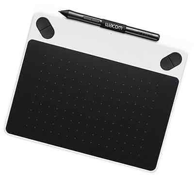 Wacom CTL-490DW-S Intuos Draw Graphics Pen Tablet - Small, White